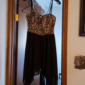 Speechless sequence dress.